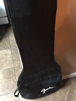 Fender Bass Black Bag Case (EXCELLENT CONDITION ‼️) for Sale in Yakima,  WA