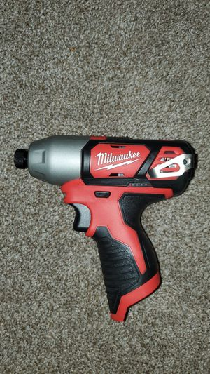Milwaukee m12 impact driver for Sale in Renton, WA