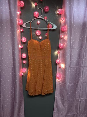 Orange Cutout Dress-Size M for Sale in Columbus, OH