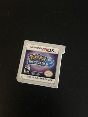 Nintendo 3DS Pokémon moon for Sale in Denver, CO