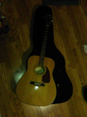 Fender DG-7 Guitar and Case for Sale in Downey, CA