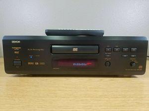 Denon DVD-3800 Black 5.1 Channel DVD Audio Video Player W/ Remote Control for Sale in Auburn, WA