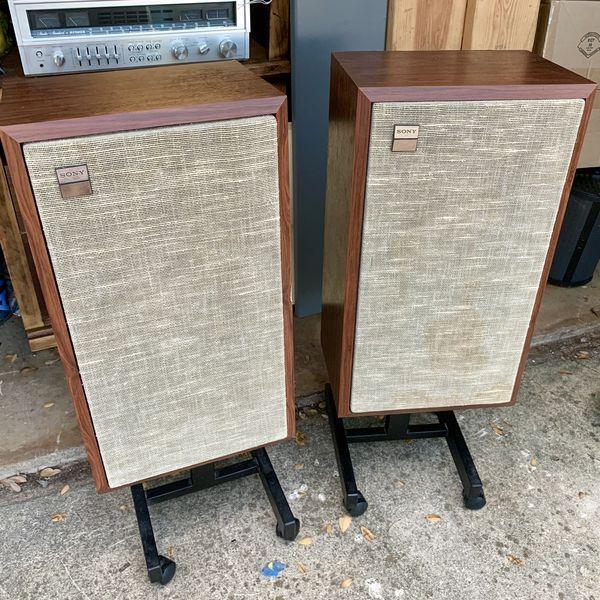 Sony SS-440 vintage speakers