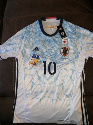 Japan national team size is large new with tags and with pickachu in the front for Sale in Perris, CA