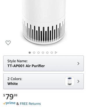 TaoTronics True HEPA Air Purifier for Sale in Anaheim, CA