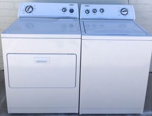 Washer and dryer free delivery in certain areas and 3 months warranty for Sale in Glendale, AZ