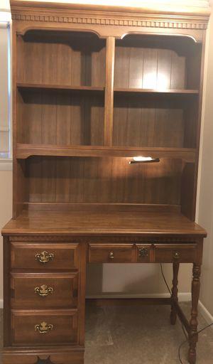 Vintage Desk with hutch for Sale in Fort Belvoir, VA