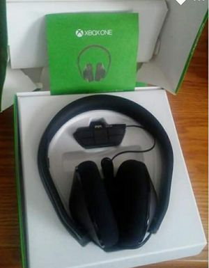 Xbox one headset new for Sale in Wytheville, VA