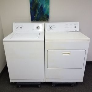 Kenmore Washer And Kenmore Electric Dryer Set, Great Working👍,FreeT Delivery Only For First Floor🚀🚚👷♂️Free installation👨 for Sale in Richardson, TX