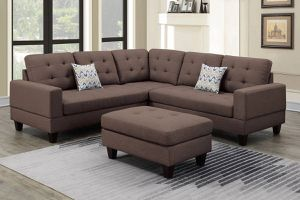 3 PCS Alejandro Collection Sectional -ottoman included-available in 3 colors $649.00. Super sale! In stock! Free delivery 🚚 for Sale in Ontario, CA