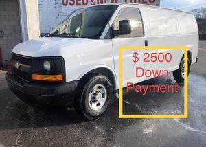 2013 Chevy Express Cargo Van $ 2500 Down Payment for Sale in Nashville, TN