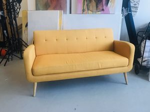 Mustard Midcentury Kingston Sofa for Sale in Brooklyn, NY