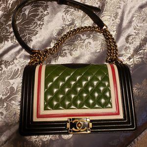 CC Chanel Le Boy Shoulder Handbag bag purse for Sale in Framingham, MA
