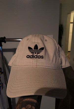 Adidas Khaki Colored Dad Hat Adjustable Unstructured Ball Cap for Sale in Pittsburgh, PA