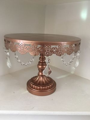 Rose Gold Wedding Cake Stand for Sale in Santa Maria, CA