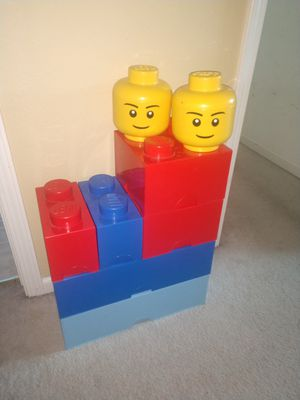 Lego storage containers for Sale in Clovis, CA
