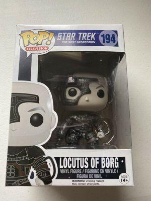 Funko POP! Star Trex Next Generation Locutus Of Borg #194 (New) for Sale in Albuquerque, NM