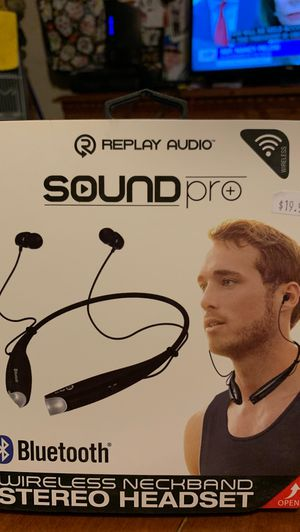Bluetooth Replay Audio Sound Pro Wireless Neckband for Sale in Avondale, AZ