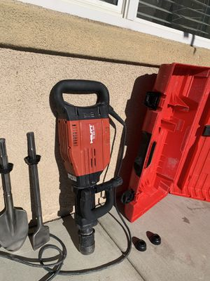 Hilti jack hammer for Sale in Hemet, CA