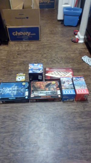 Puzzles and board games for Sale in San Marcos, TX