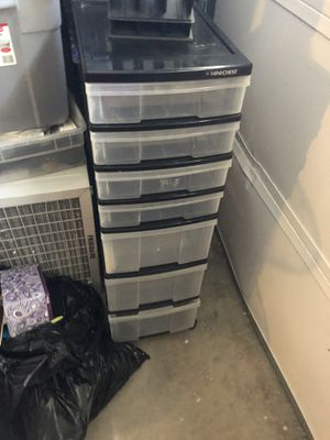 Plastic drawer organized for Sale in Concord, CA