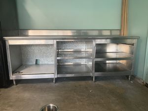 Restaurant Steel Prep Table for Sale in San Bernardino, CA