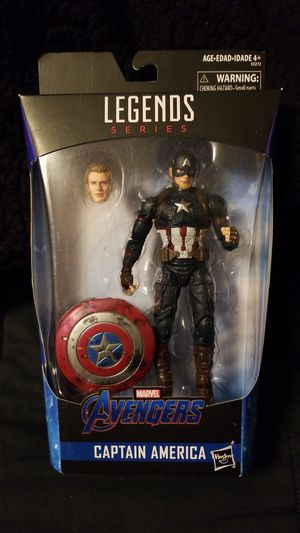 Marvel legends Worthy Captain America for Sale in Chandler, AZ