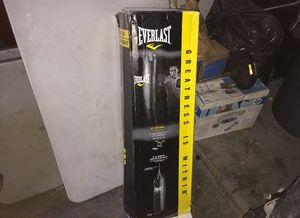 Everlast punching bag, comes with new chain for Sale in El Segundo, CA