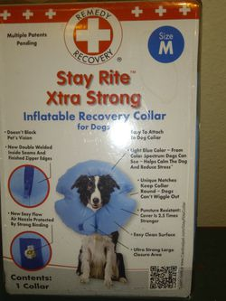 Inflatable Recovery Collar For Dogs Medium for Sale in Dunnellon,  FL