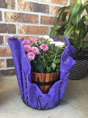 Concrete flower pots for Sale in Wichita, KS