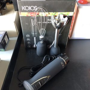 New 12 speed 500W 2-in-1 KOIOS Immersion Hand Blender Kitchen Appliance for Sale in Riverside, CA