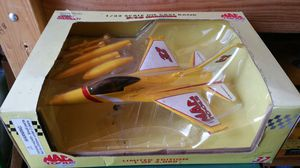 Used, MAC Tools Dale Jarrett #32 Die Cast F-16 Falcon Airplane Bank - NEW!!! for Sale for sale  Salem, OR