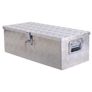 30 Aluminum Truck Pickup Bed Trailer Lockable Tool Box with Lock for Sale in Lake Elsinore, CA