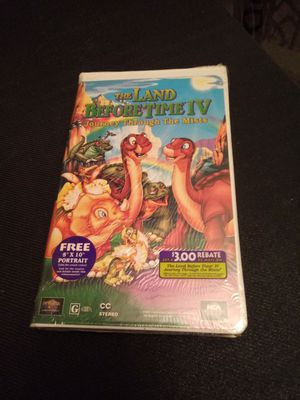 The land before time 4 vhs movie sealed for Sale in Chicago, IL