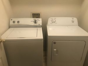 Kenmore washer and Roper dryer great condition. ( $450 for set) or ( $200 for each individually) for Sale in Bakersfield, CA