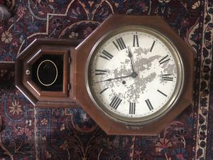 Antique wall clock for Sale in Belmont, CA