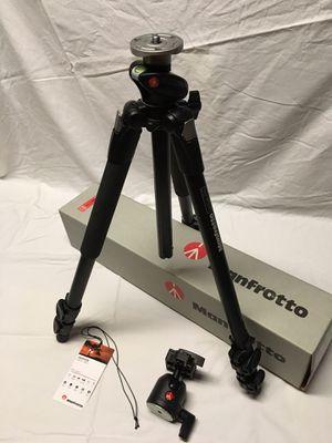 New MANFROTTO Pro Tripod, Monopod, & Head for Sale in Harrisonburg, VA