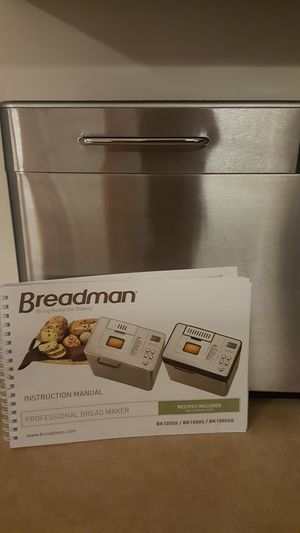 Breadman Bread maker NIB for Sale in Canyonville, OR