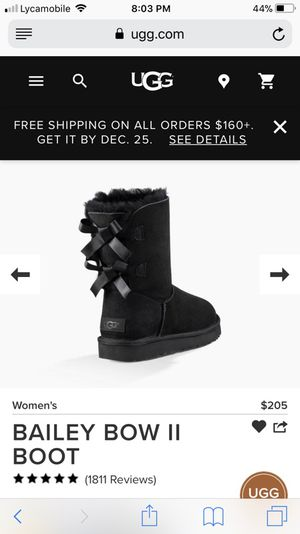 Brand new size 3 uggs bow for Sale in Brooklyn, NY