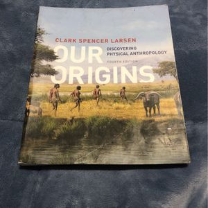 Used Anthropology 101 Textbook for Sale in Murrieta, CA