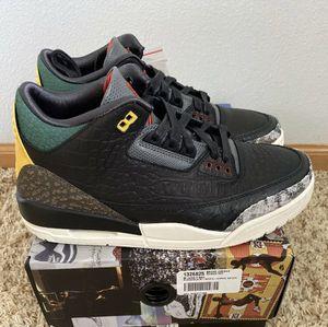 "Last Men's Size 9.5 Air Jordan Retro 3 ""Animal instinct 2.0"" for Sale in Sunrise, FL"