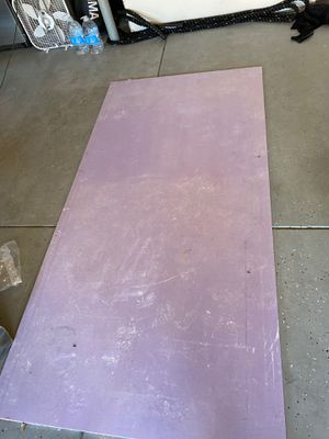 Free piece of mold resistant sheet rock for Sale in Modesto, CA