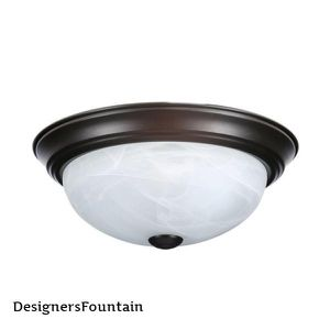 Designers Fountain 2-Light 11 in. Oil Rubbed Bronze Ceiling Flush Mount #37292 for Sale in Dallas, TX