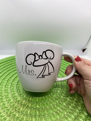 Disney Parks Mrs. Minnie Mouse Ears Mug, $15 for Sale in Tampa, FL