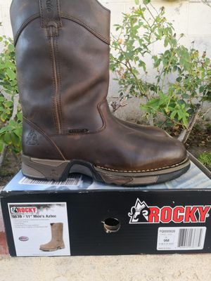 Brand new rocky soft toe work boots size 9 for Sale in Riverside, CA