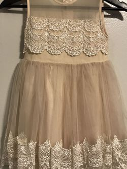 Ivory Flower Girl Dress for Sale in Hollywood,  FL