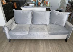 Grey couch for Sale in Midland, TX
