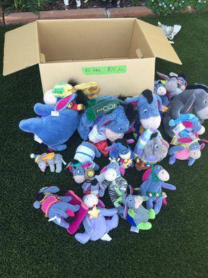 New Eeyore Disney Stuffed Toys for Sale in Martinez, CA