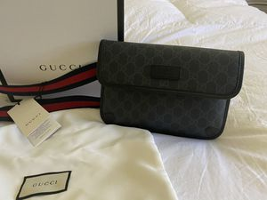 ***GUCCI*** GG black belt bag NEW!!! for Sale in Chino Hills, CA