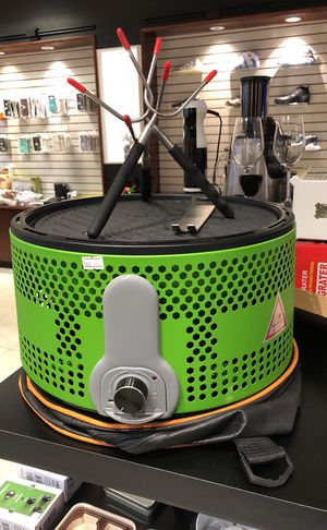 castiron charcoal grill with BBQ fork for Sale in Norcross, GA